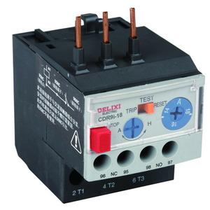 德力西CDR9i热过载继电器
