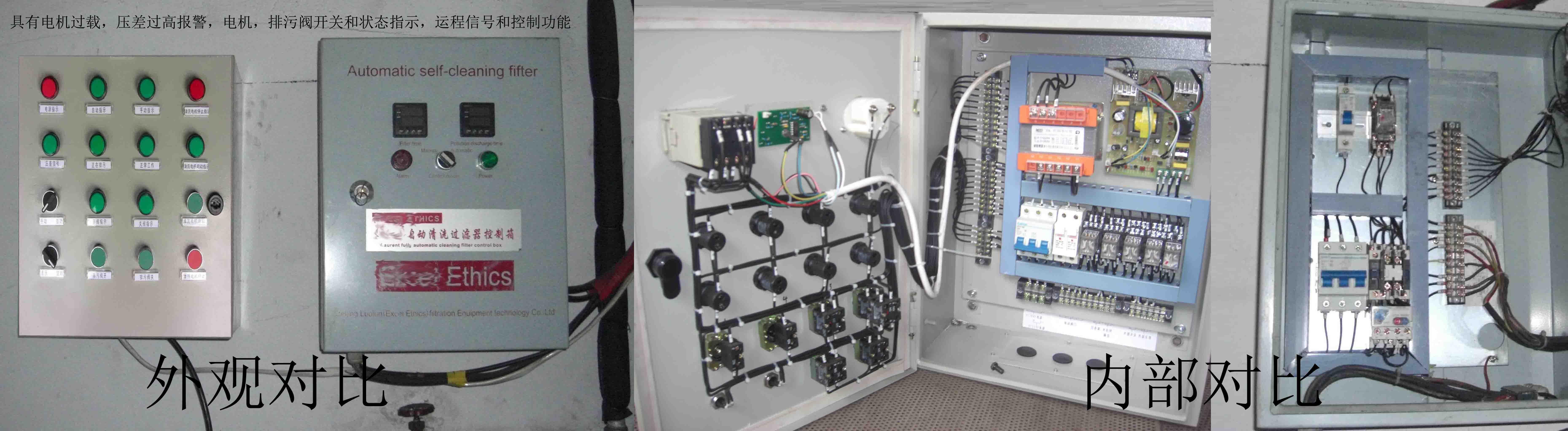 全自动自清洗过滤器控制系统