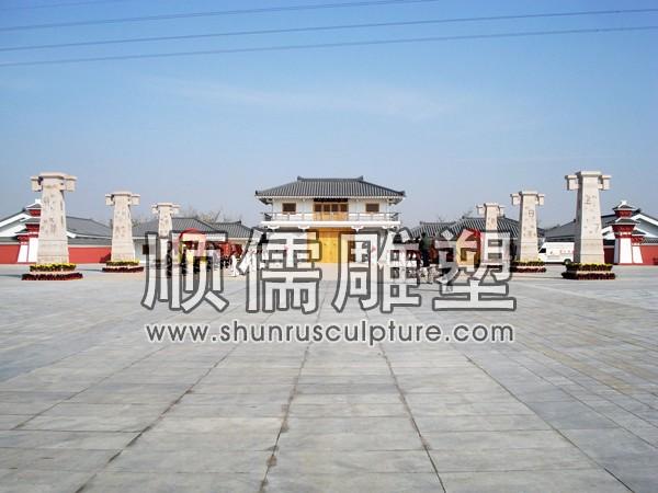 顺儒雕塑-广场工程-001