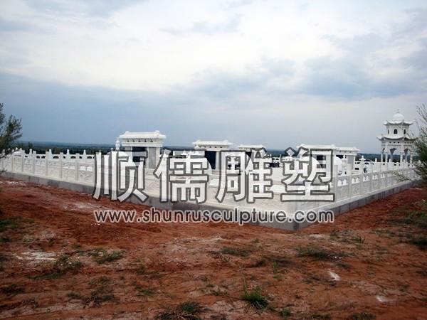 顺儒雕塑-栏杆-陵园工程-001