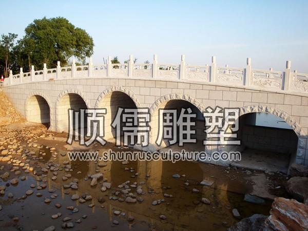 顺儒雕塑-石桥工程-001