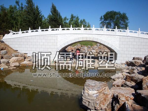 顺儒雕塑-石桥工程-002