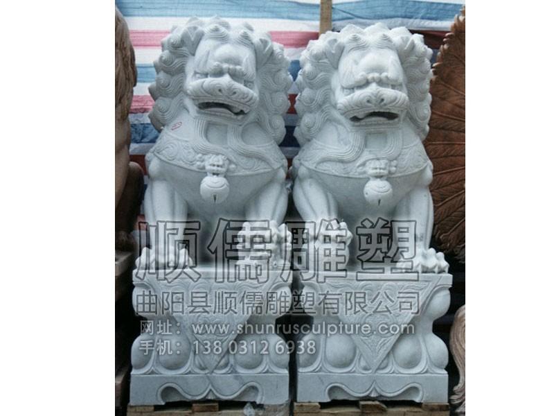 东方石狮子-001-石雕-顺儒雕塑