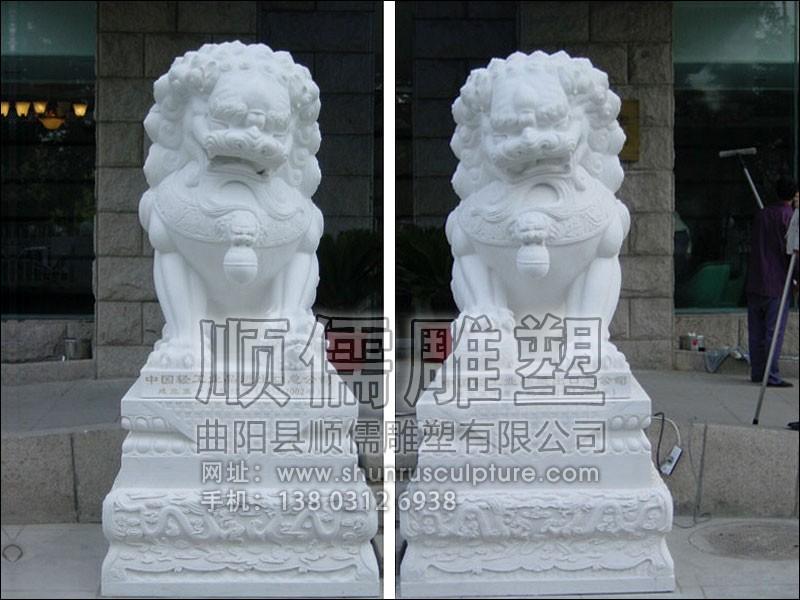 东方石狮子-002-石雕-顺儒雕塑