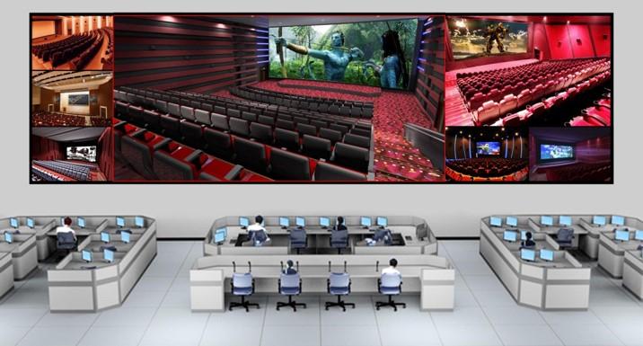 与索尼合作的数字影院远程管理系统
