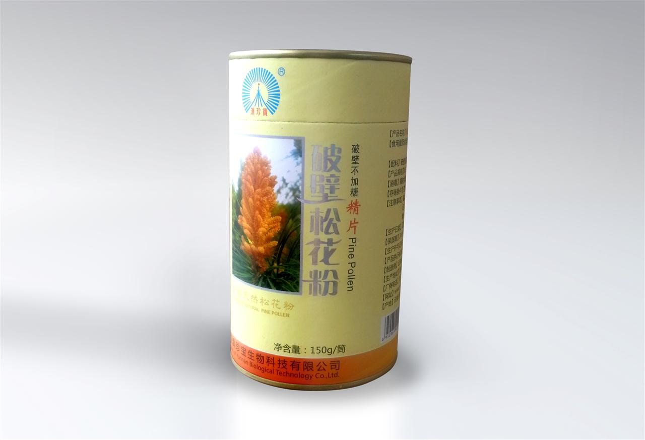 云南滇珍宝/天然破壁无糖松花粉精片150克/300片