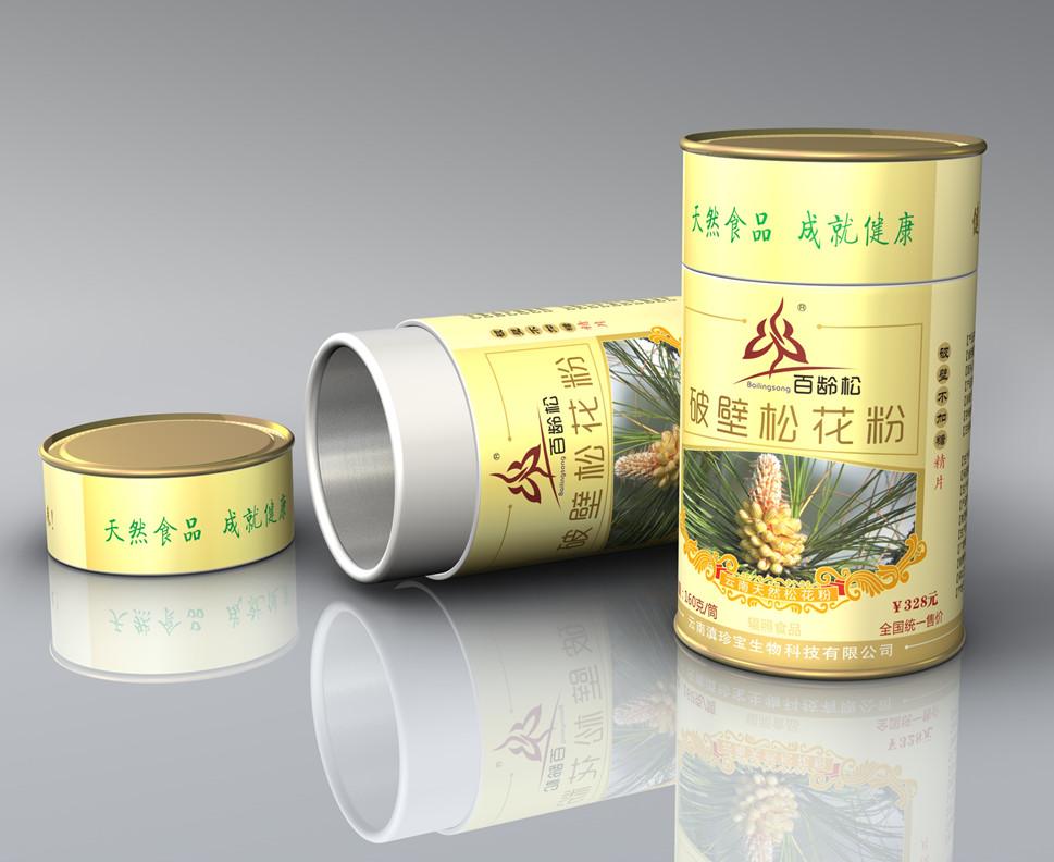 云南百龄松破壁松花粉片 160g/筒 (约320片)
