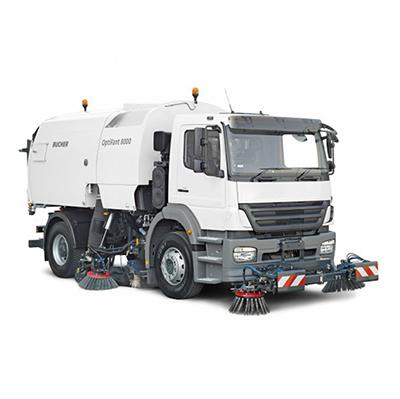 布赫卡车式清扫车8立方