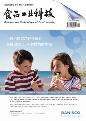 食品工业科技封面
