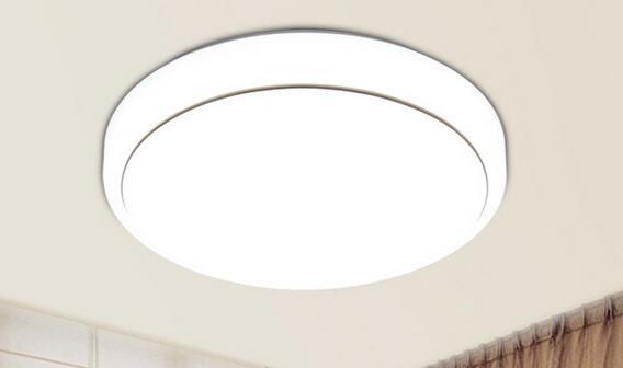 高边银吸顶灯 批发led吸顶灯现代简约亚克力客厅灯圆形led卧室灯书房阳台家装灯