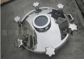 厂家直销 视镜式 圆形法兰人孔