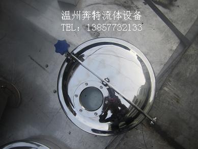 厂家直销 圆形带视镜 常压人孔