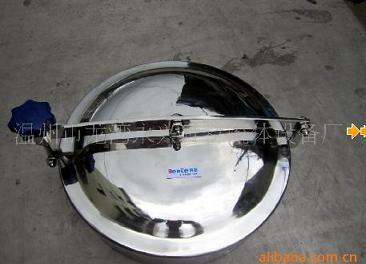 温州奔特新品 430MM不锈钢单横梁常压人孔