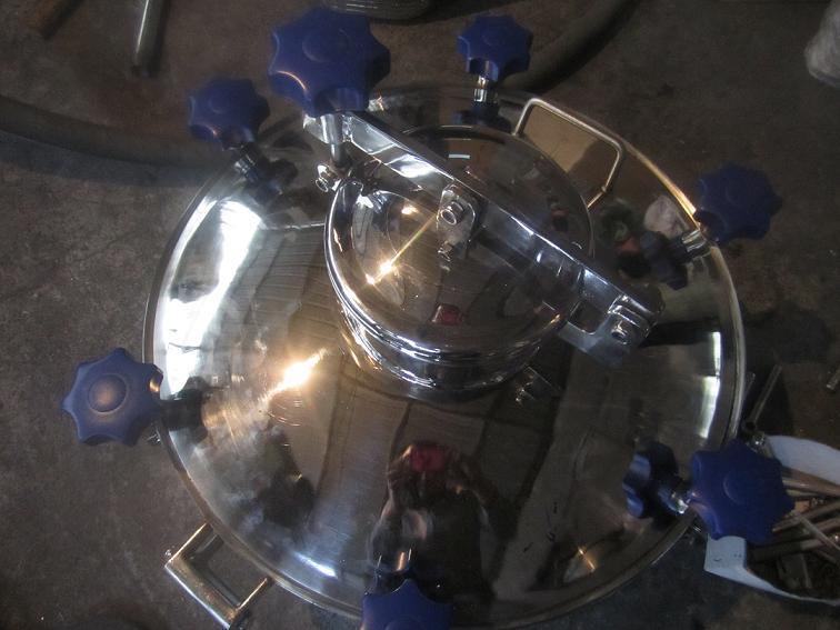 组合式不锈钢卫生级人孔