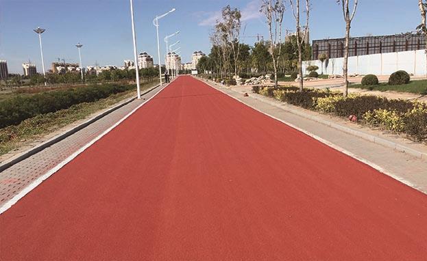彩色防滑路面工程