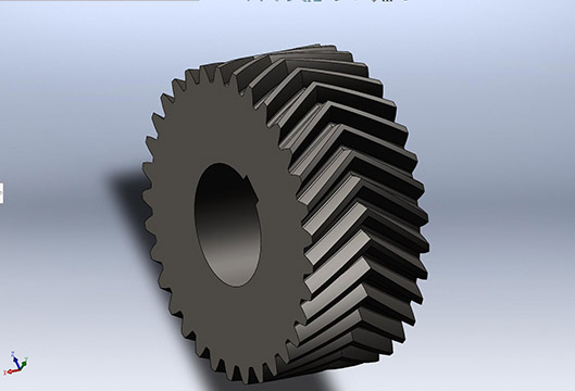 14M Herringbone Gear For Hot Rolling Mill Rolls/ Engranaje en espiga 14M para laminadores en caliente/ 14M елочка для горячекатаных рулонов