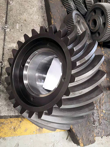 Conical Gear After Internal Grinding
