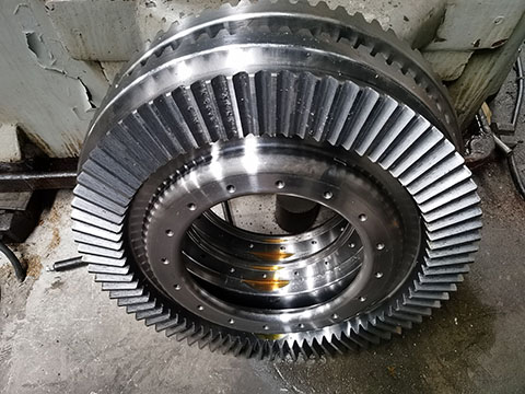 Special Two Sides Toothed Straight Bevel Gears