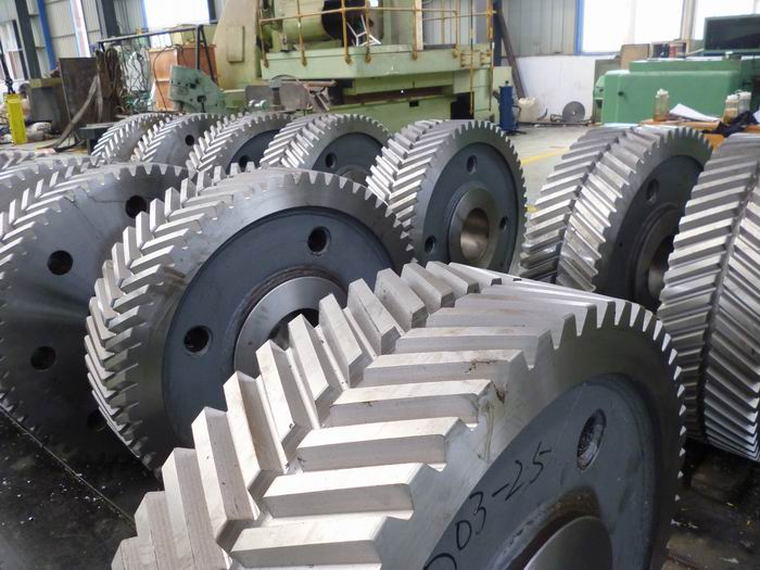 Double Helical Gear For Steel Factory