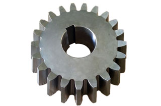 Bevel gear set for cone crusher