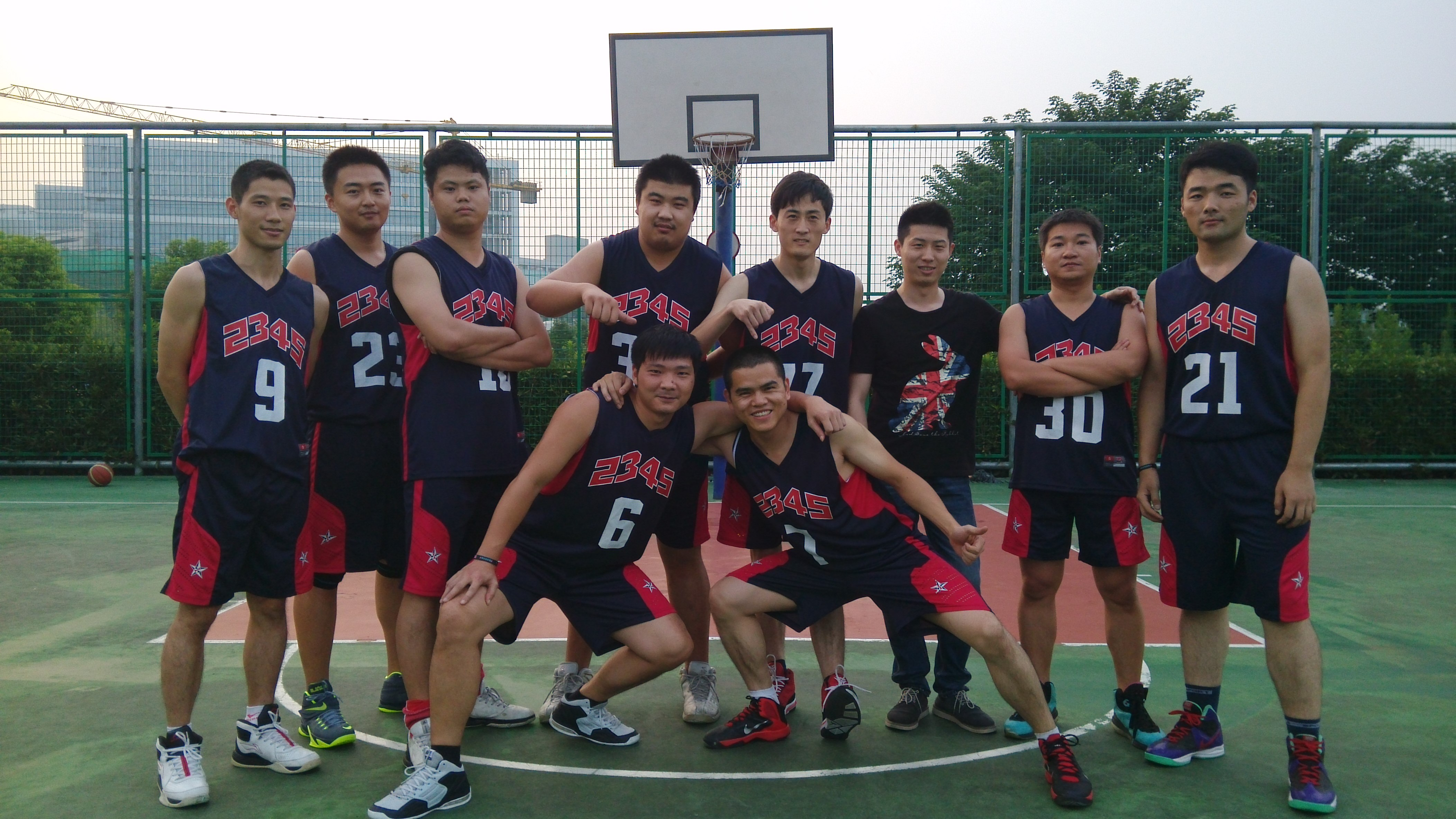 2014浦软运动会——篮球赛