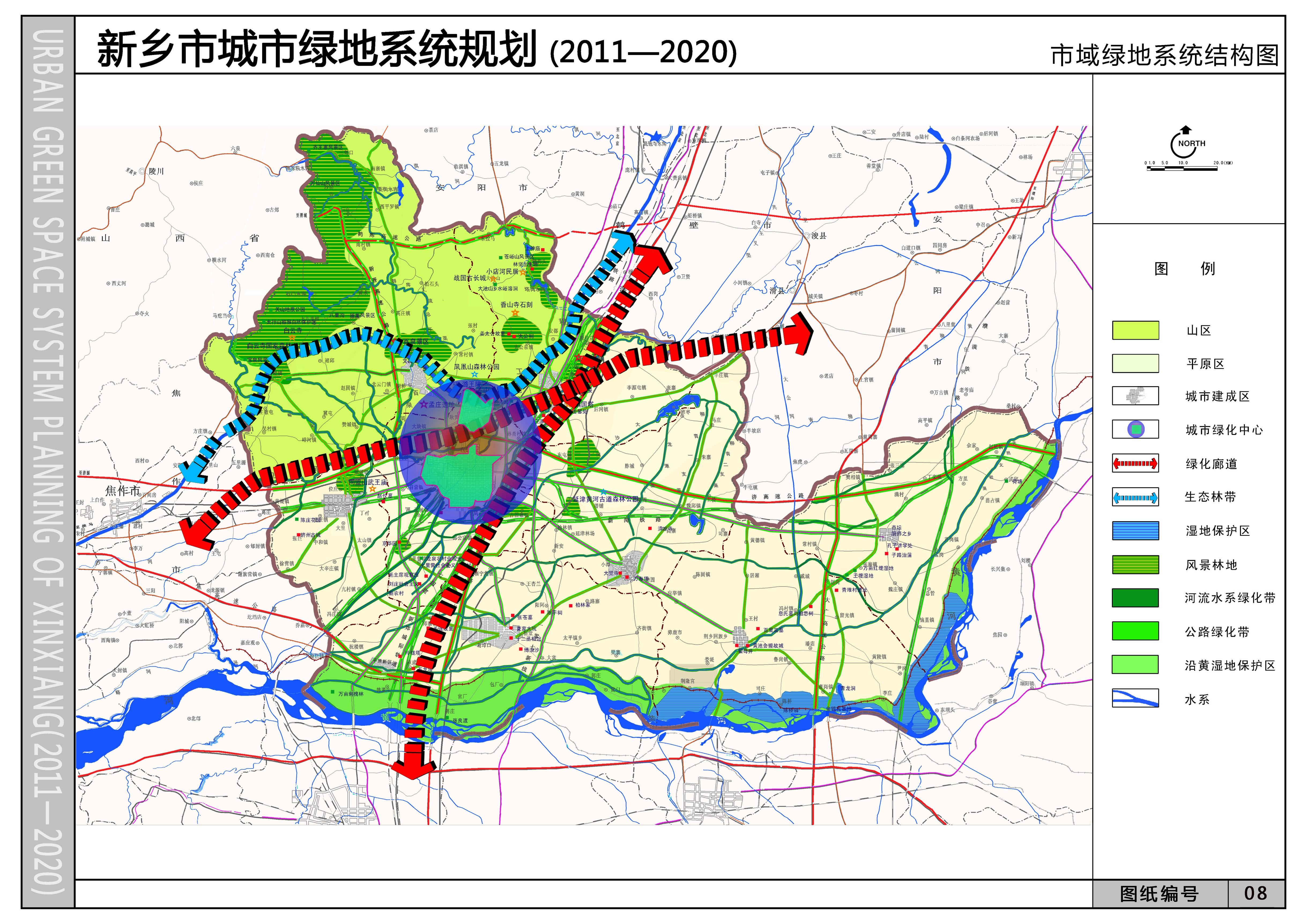 新乡市城市绿地系统规划