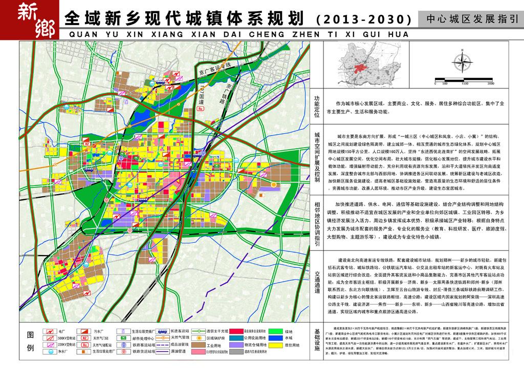 全域新乡现代城镇体系规划(2013-2030)
