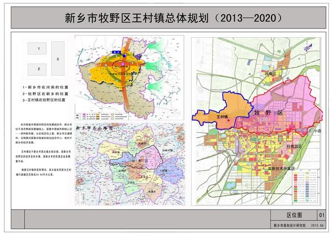 《王村镇总体规划2013-2020》