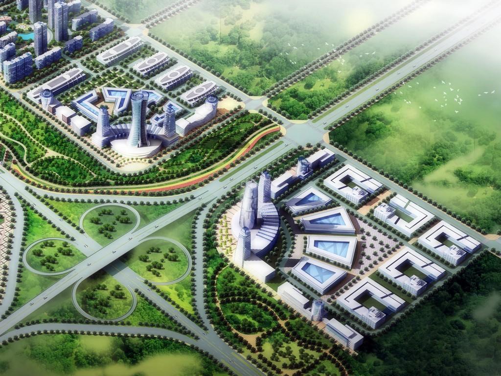 新濮路出市口城市设计