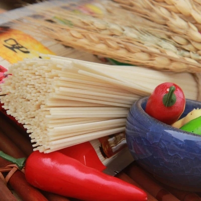 贵州遵义绥阳特产正宗张氏空心面纯手工挂面盐水面包500g无添加