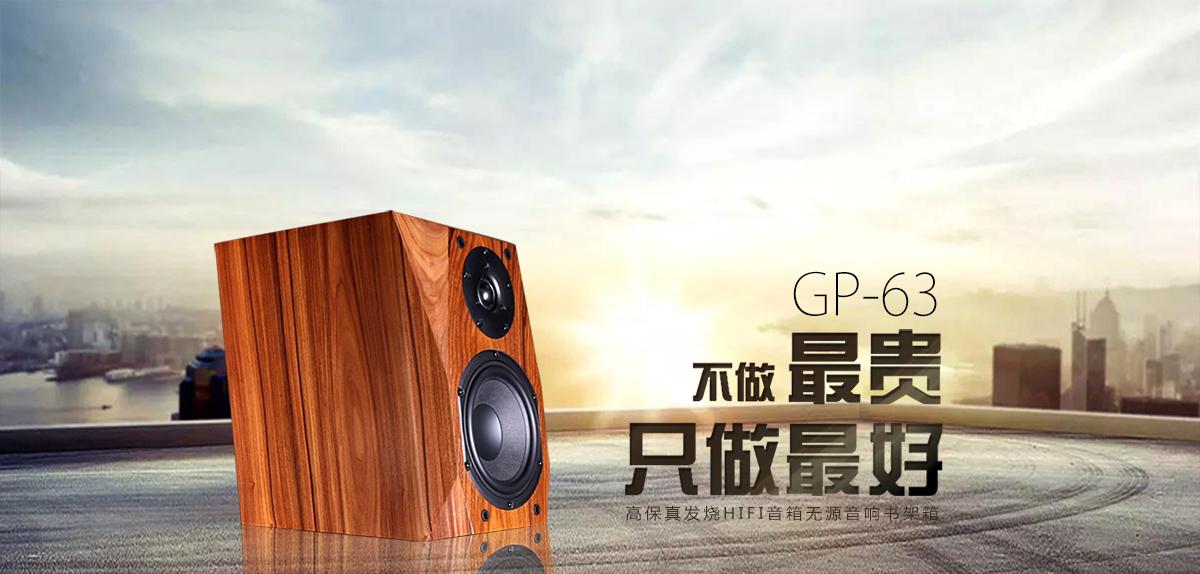 GP-62高保真发烧HIFI音箱