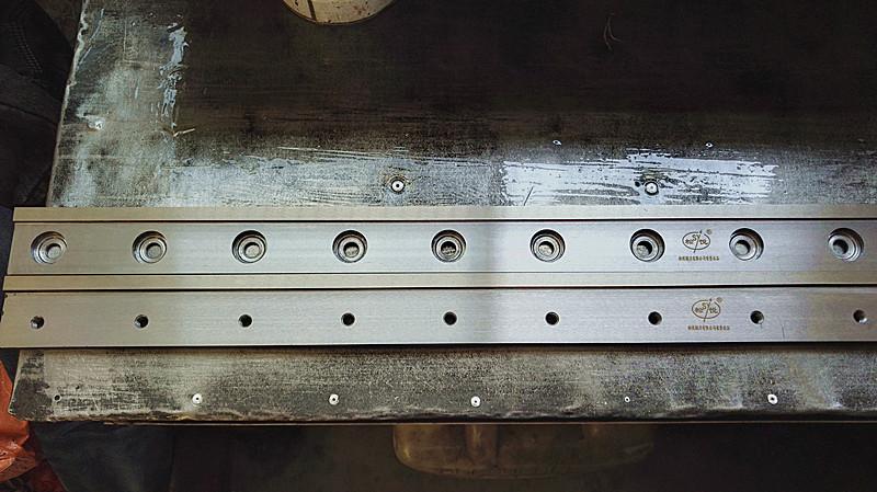 塑料制袋机冷切刀,制袋机刀片,冷切刀片 HSS高速钢