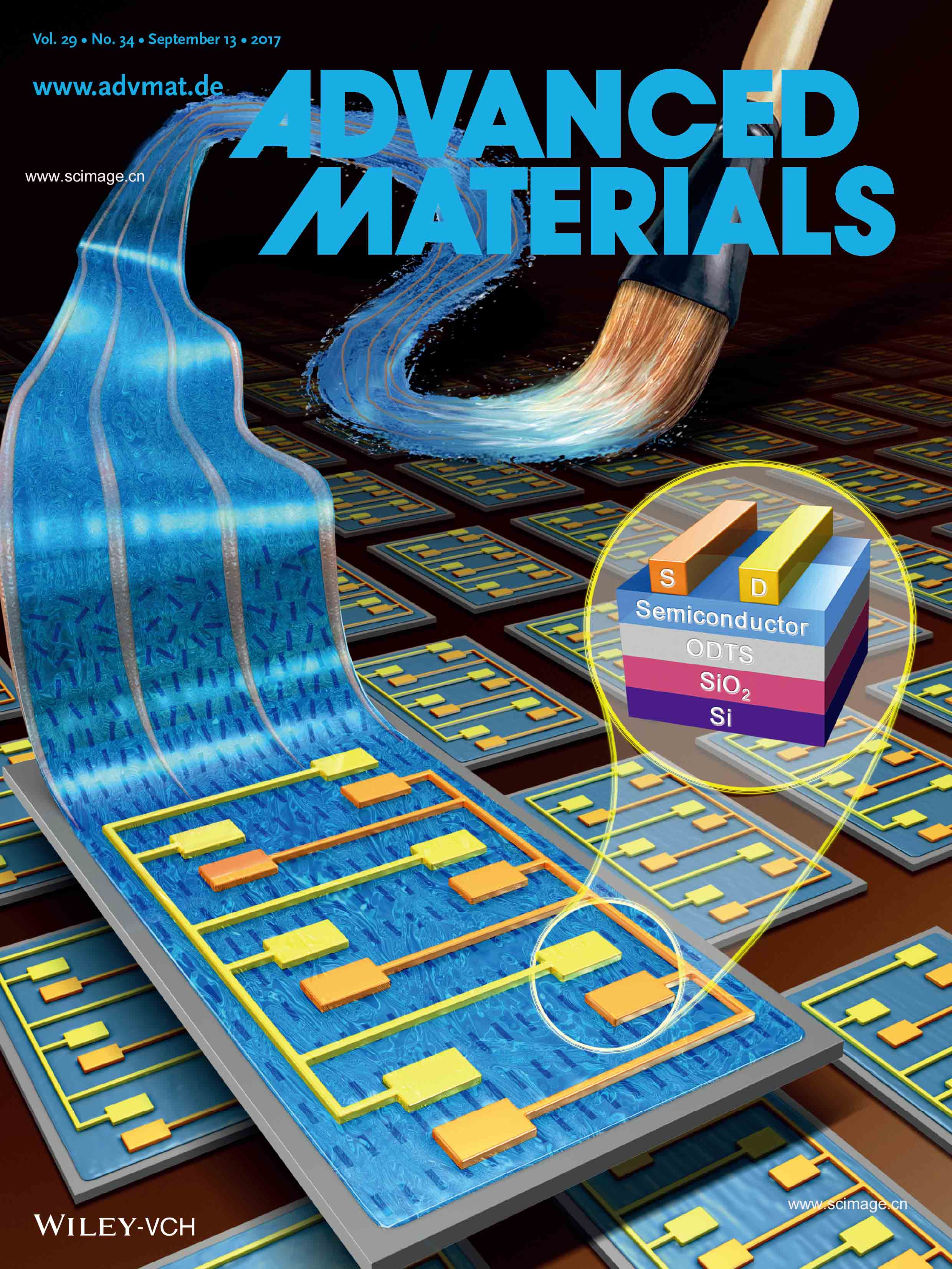 Thin-Film Transistors: Directional Solution Coating by the Chinese Brush: A Facile Approach to Improving Molecular Alignment for High-Performance Polymer TFTs