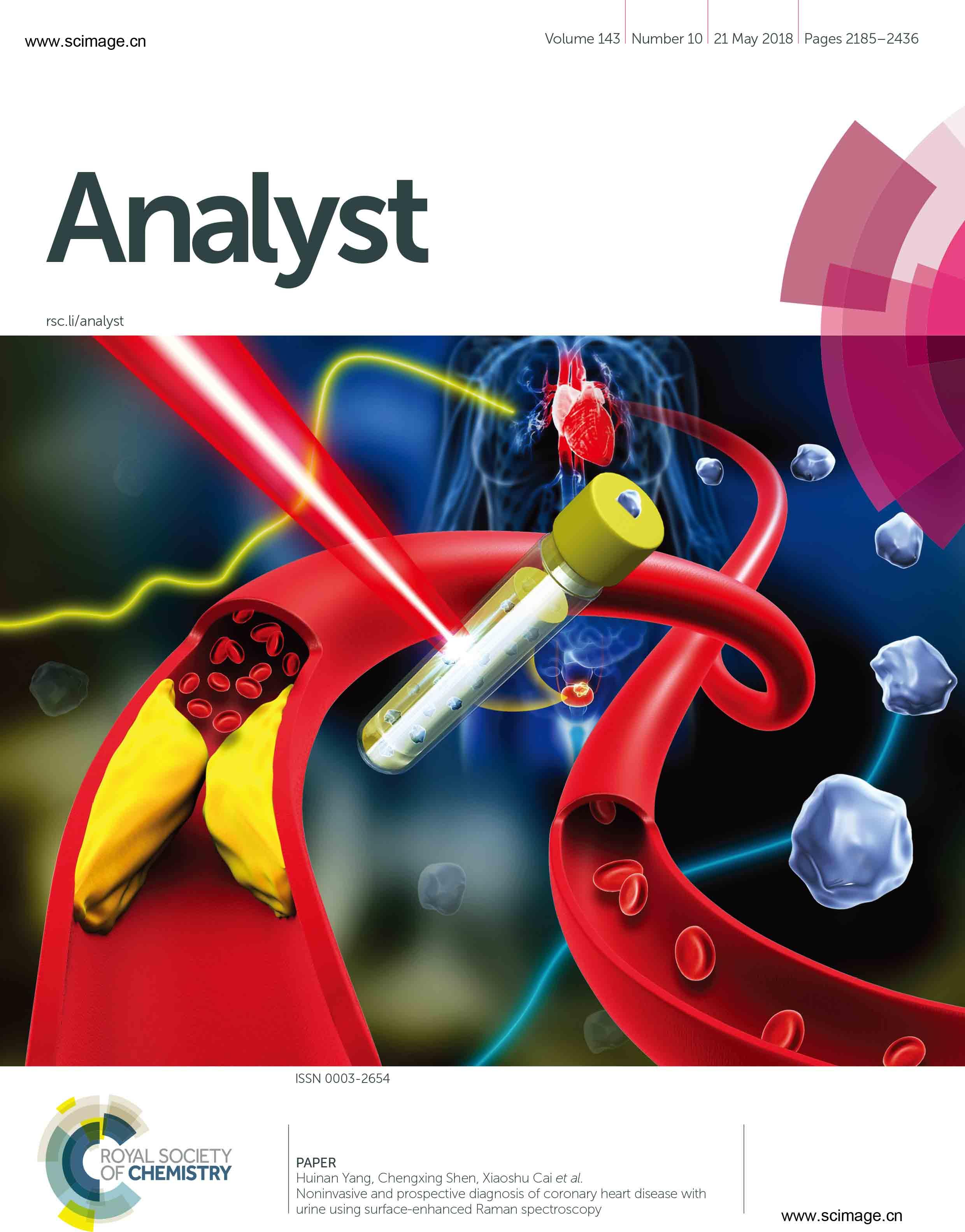 Noninvasive and prospective diagnosis of coronary heart disease with urine using surface-enhanced Raman spectroscopy