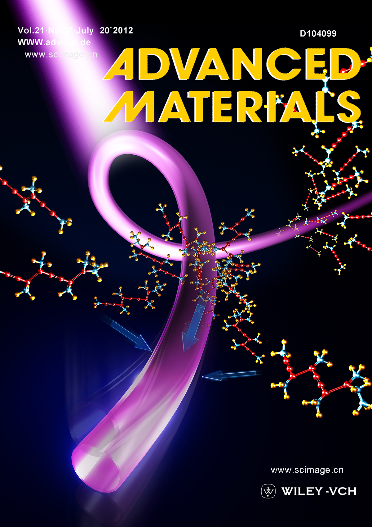 Force Sensors: Hybrid Mechanoresponsive Polymer Wires Under Force Activation (Adv. Mater. 12/2013)