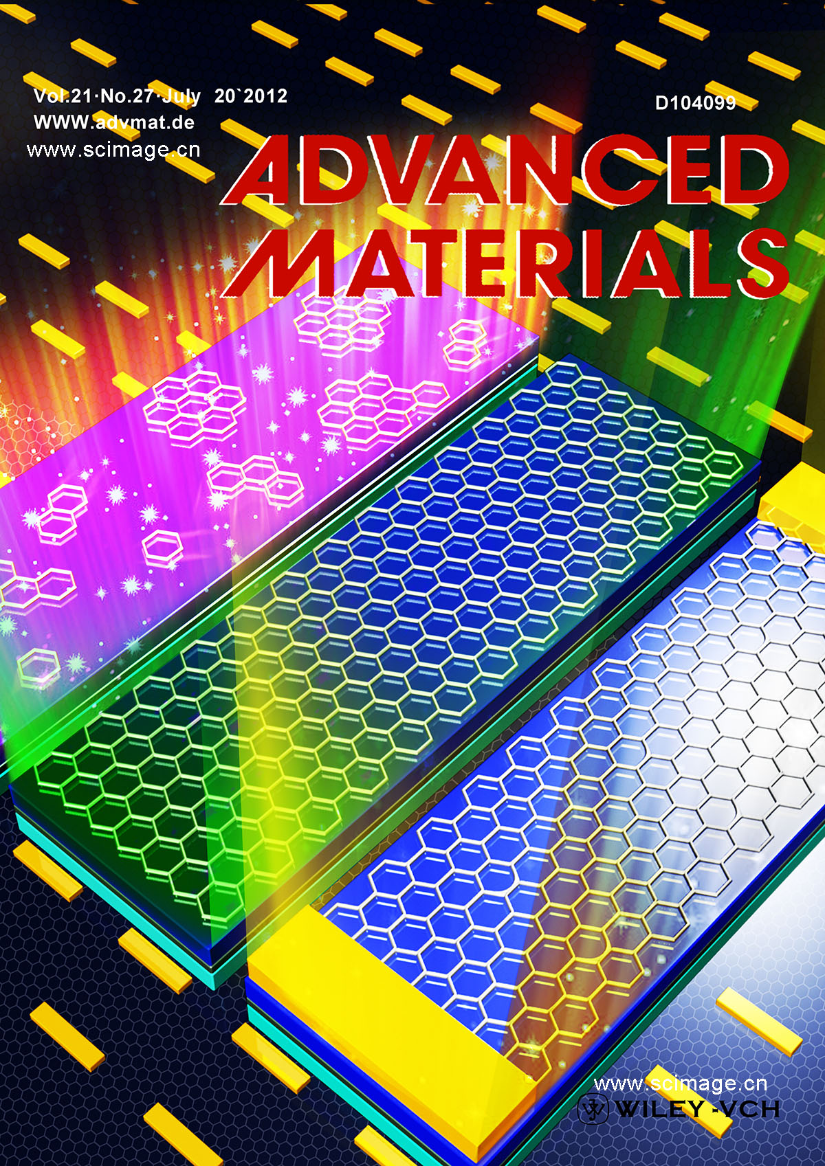 Graphene: Two-Stage Metal-Catalyst-Free Growth of High-Quality Polycrystalline Graphene Films on Silicon Nitride Substrates (Adv. Mater. 7/2013)
