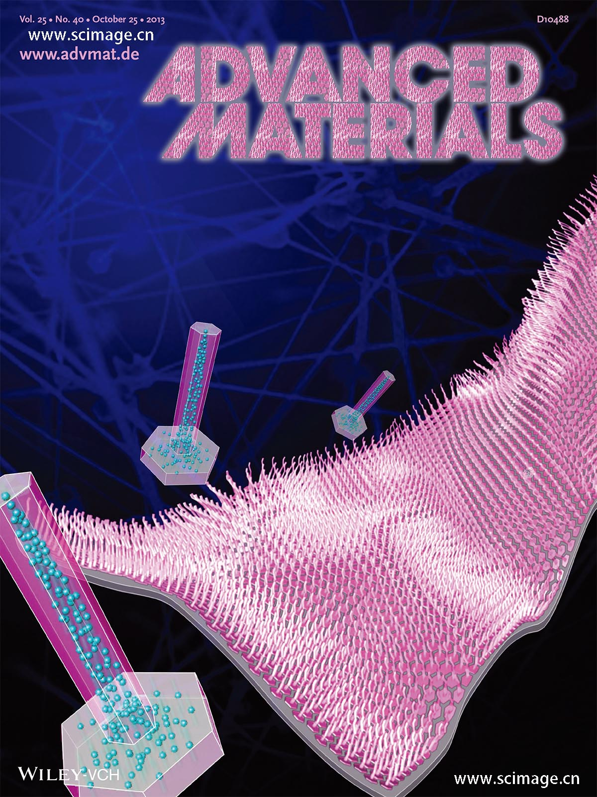 Field Emitters: Epitaxial ZnO Nanowire-on-Nanoplate Structures as Efficient and Transferable Field Emitters (Adv. Mater. 40/2013)