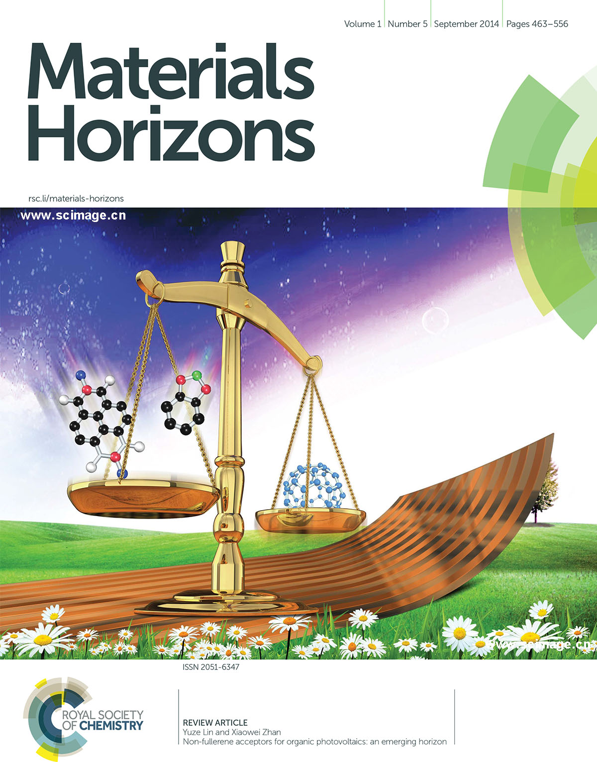 Non-fullerene acceptors for organic photovoltaics: an emerging horizon