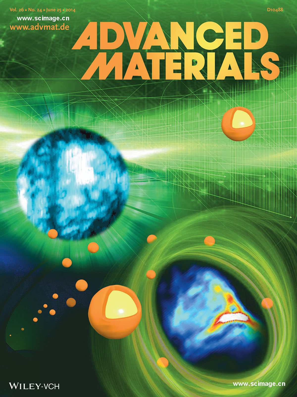 Photothermal Therapy: Multifunctional Fe5C2 Nanoparticles: A Targeted Theranostic Platform for Magnetic Resonance Imaging and Photoacoustic Tomography-Guided Photothermal Therapy (Adv. Mater. 24/2014) (page 4187)