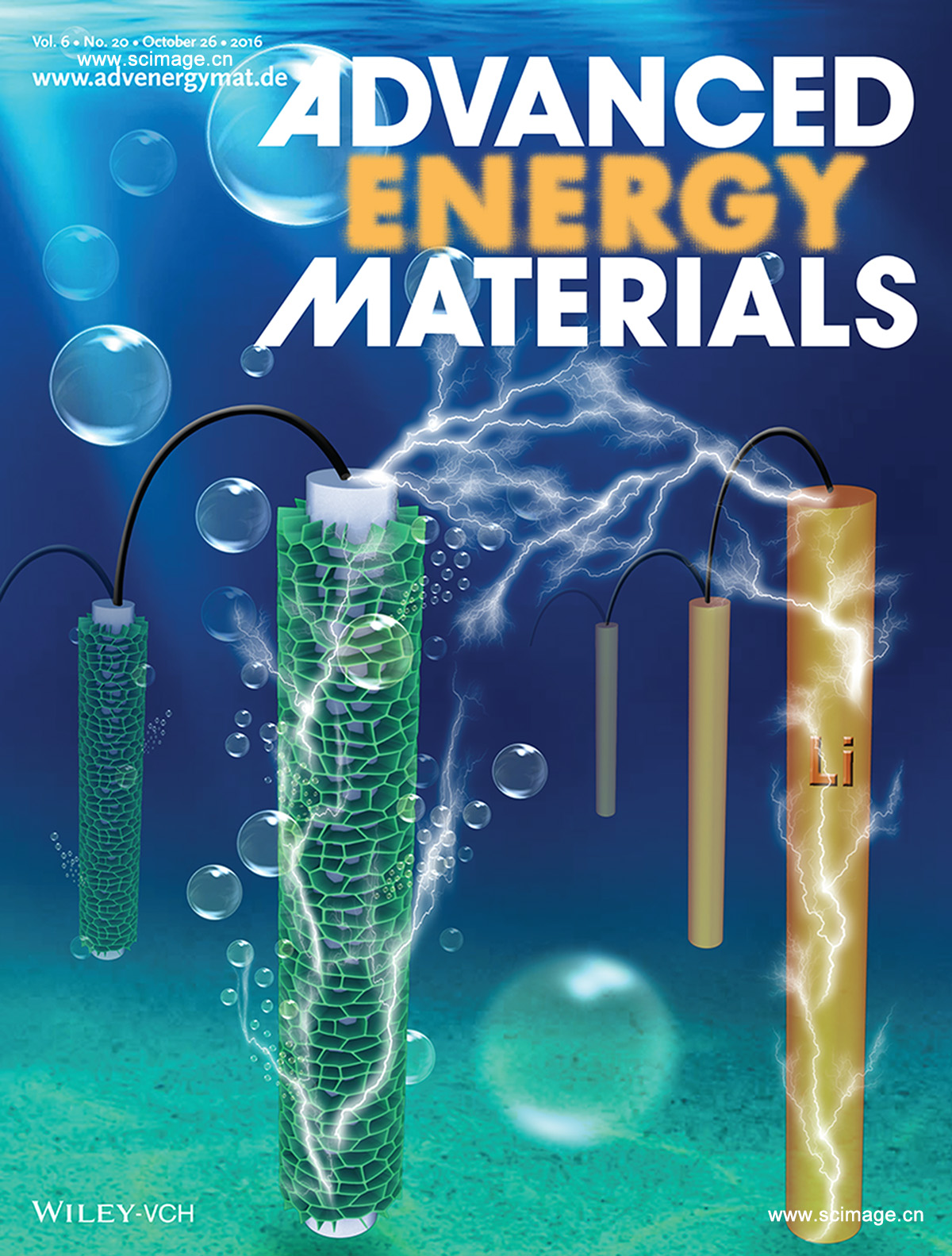 Zn-Air Batteries: Egg-Derived Mesoporous Carbon Microspheres as Bifunctional Oxygen Evolution and Oxygen Reduction Electrocatalysts (Adv. Energy Mater. 20/2016)