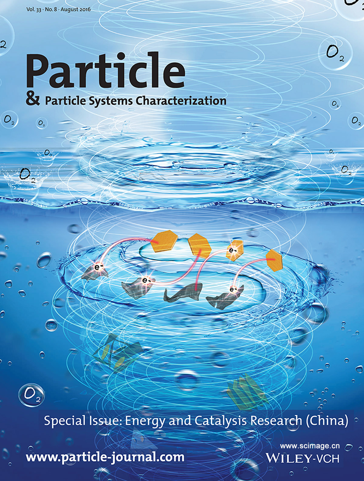 Hybrid Electrocatalysts: Advances in Hybrid Electrocatalysts for Oxygen Evolution Reactions: Rational Integration of NiFe Layered Double Hydroxides and Nanocarbon (Part. Part. Syst. Charact. 8/2016) (page 447)