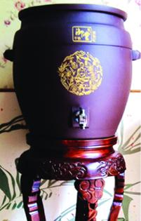 千锦御堂紫龙缸