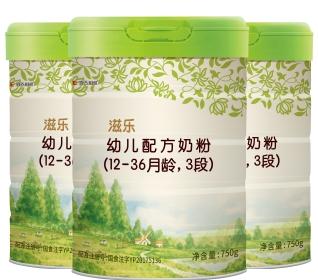 滋乐婴幼儿配方奶粉3段