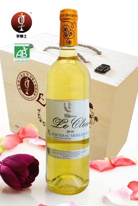 克罗庄园有机甜白2010年(整箱6瓶起售)