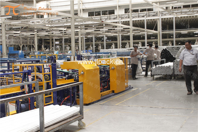 PPR管材自動成型套袋包裝機