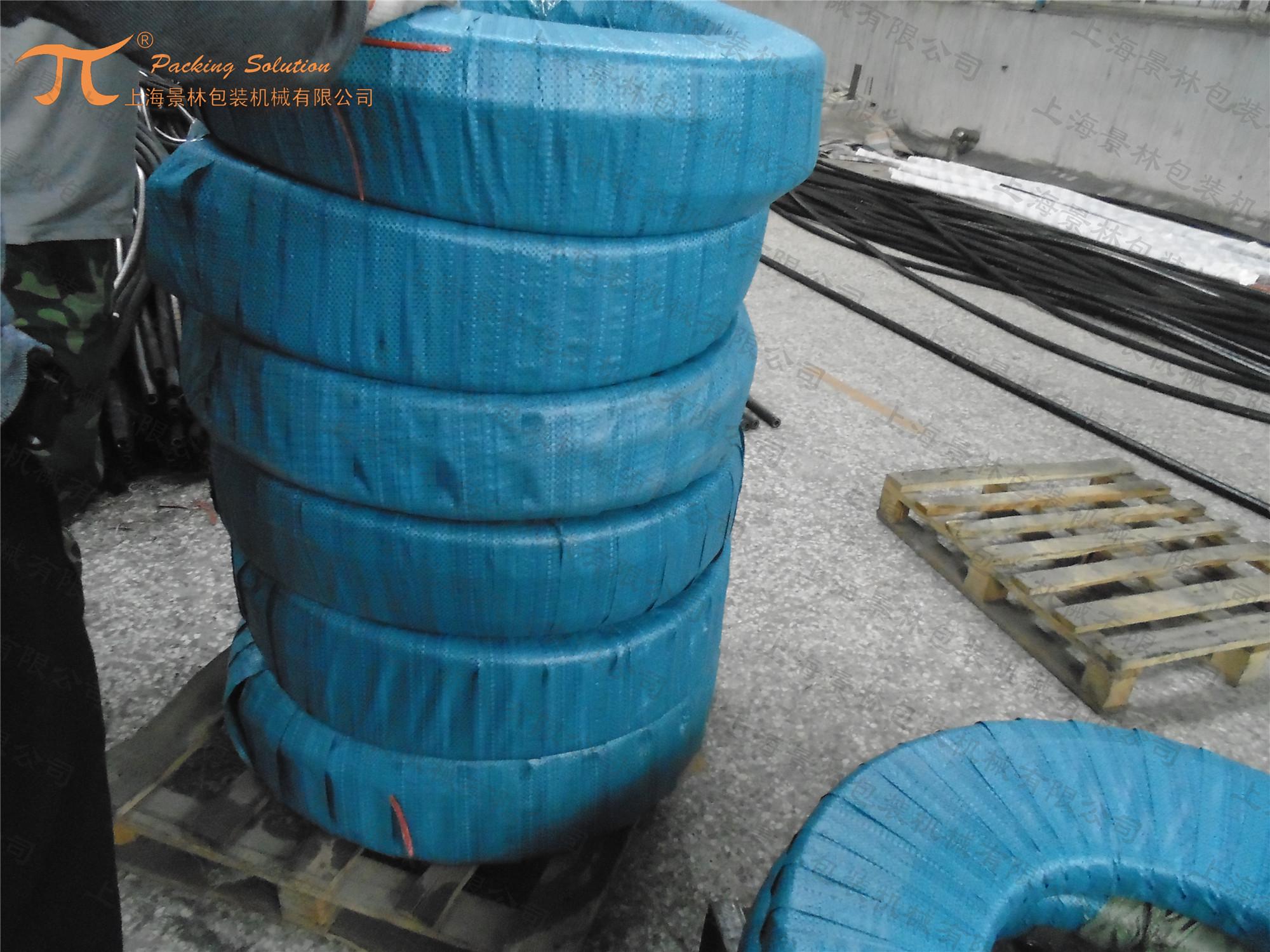 臥式高壓油管纏繞包裝機 GW800