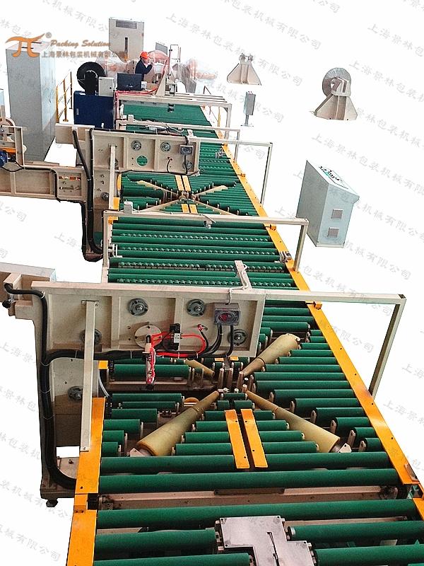 铜带/铜卷卧式包装机组
