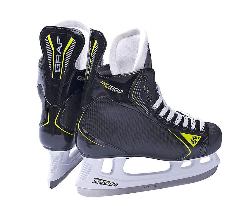 瑞士GRAF格拉芙PK1900冰球鞋兒童成人青少年球刀真冰滑冰鞋新款
