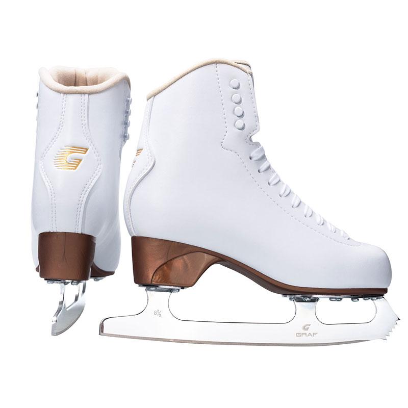 GRAF格拉芙花樣冰刀鞋U200