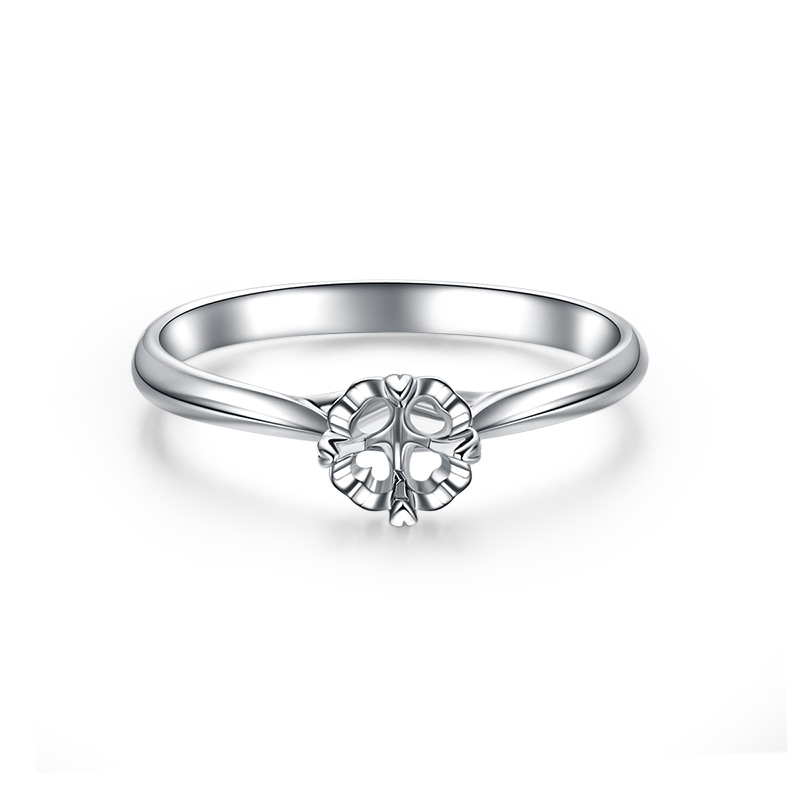 一生 18K金戒指空托 R20253